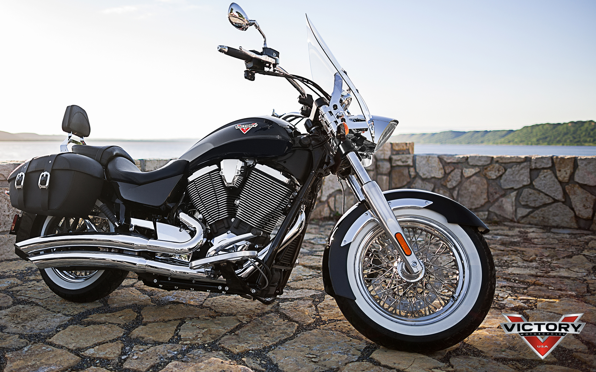 Object Moved: Victory Motorcycles Wallpaper