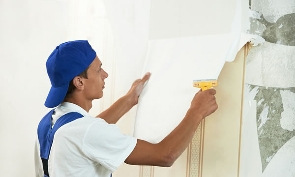 Wallpaper Removal   Think Painting   Massachusetts Painting Contractor 600x360