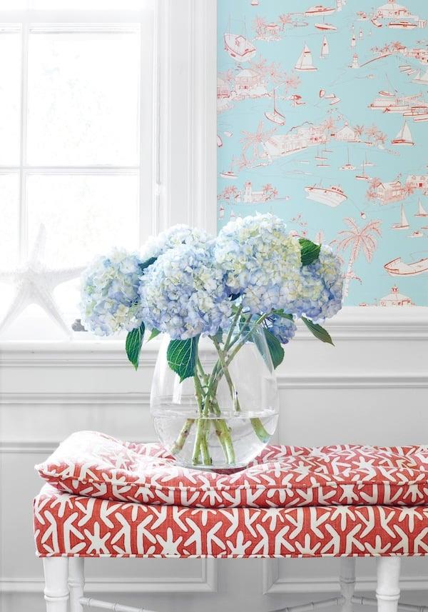 Wallpaper Supplier Online UK Thibaut Wallpapers   Richmond 600x857