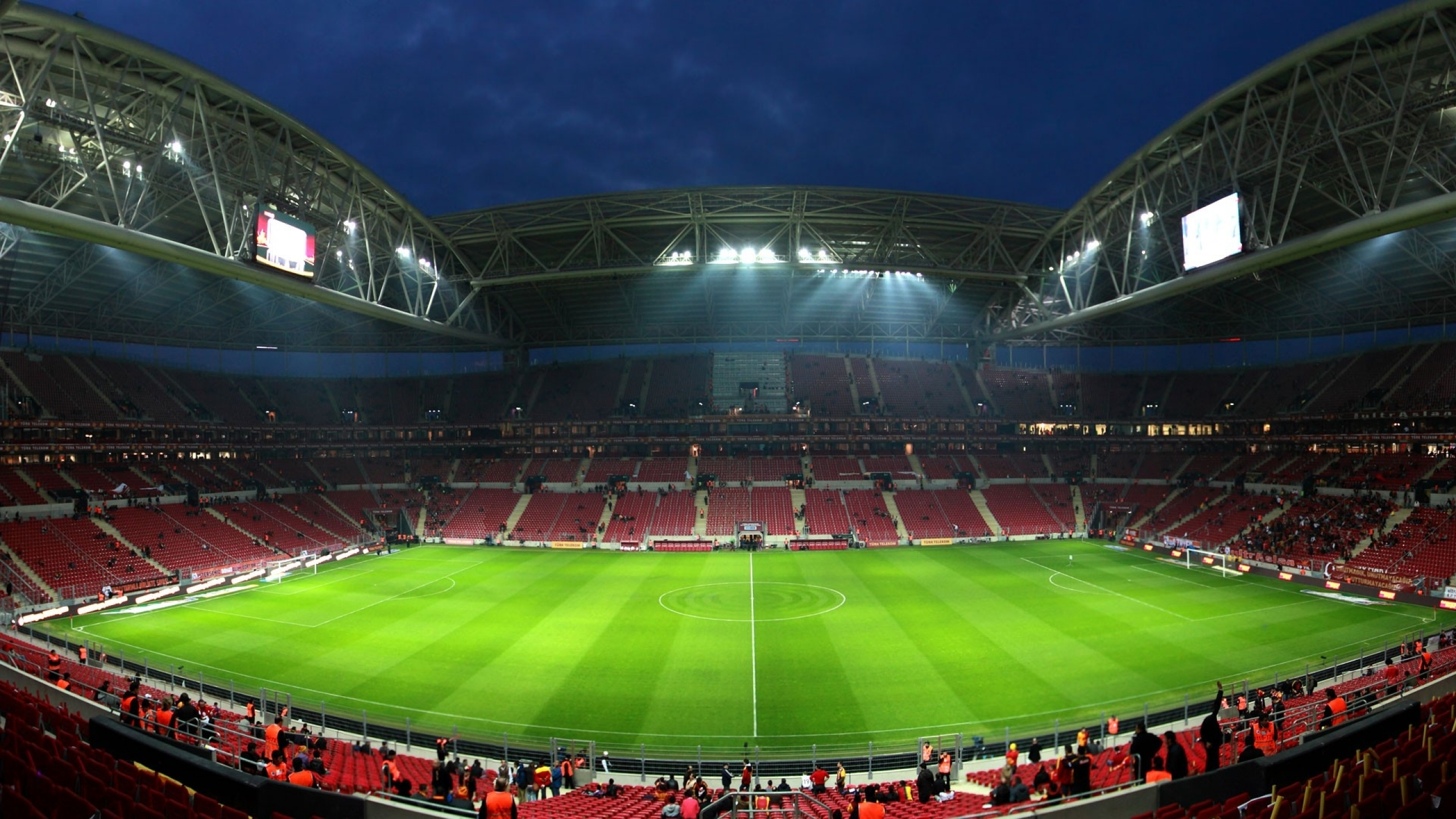 soccer stadium galatasaray sk tt arena galatasaray Wallpaper download 2560x1440