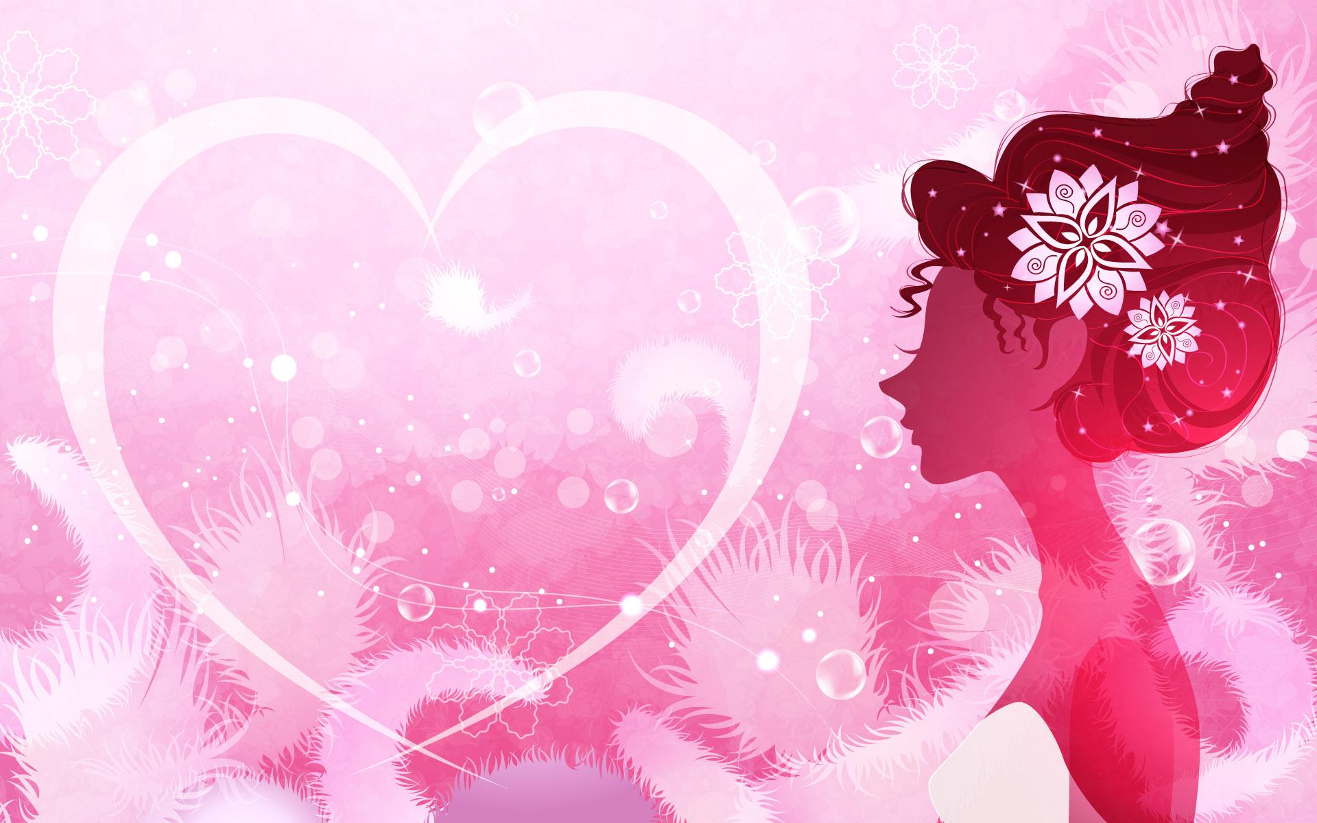 Cute Girly Backgrounds Desktop Image 1920x1200