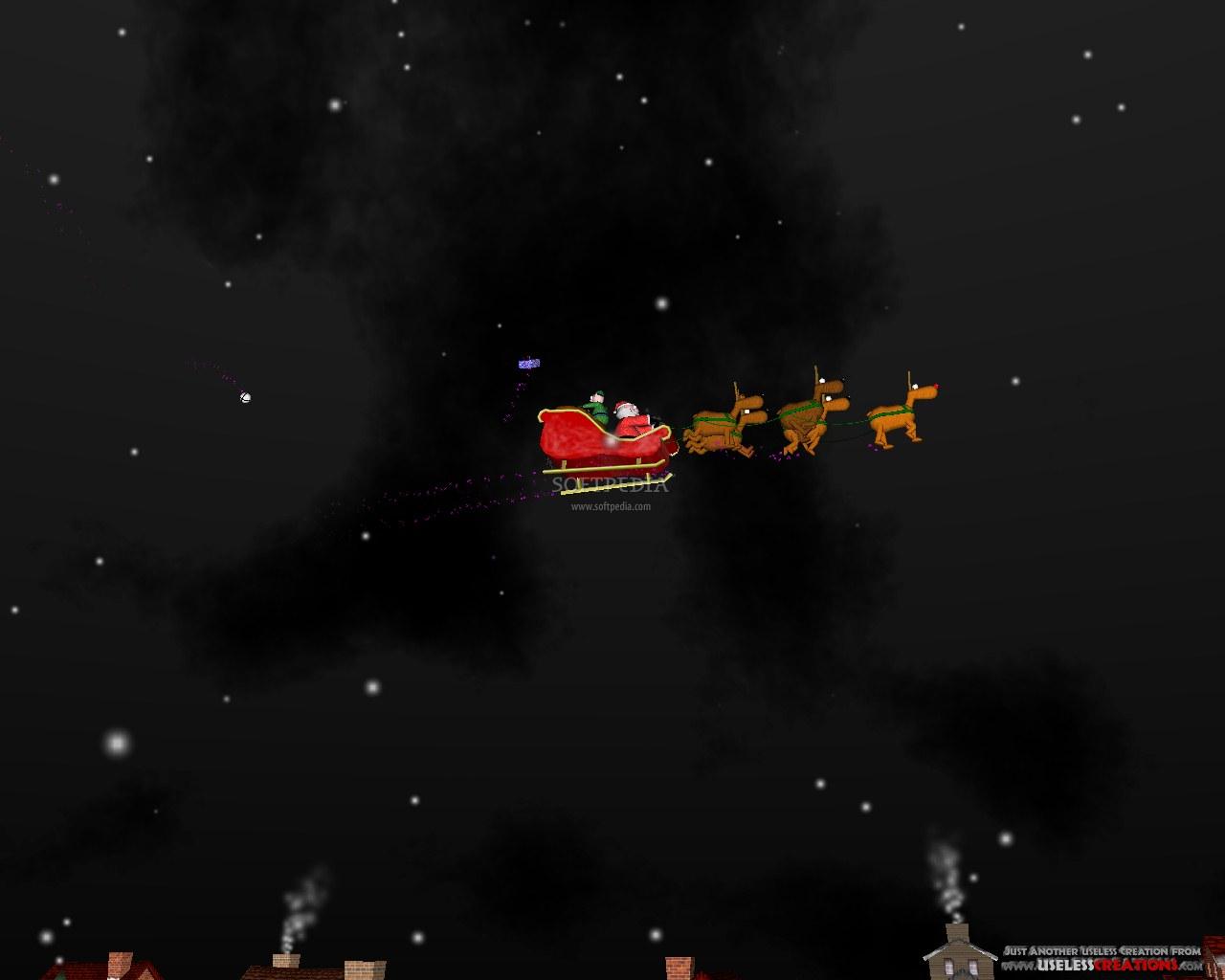 Screenshot 1 of A Very 3D Christmas Screensaver 1280x1024