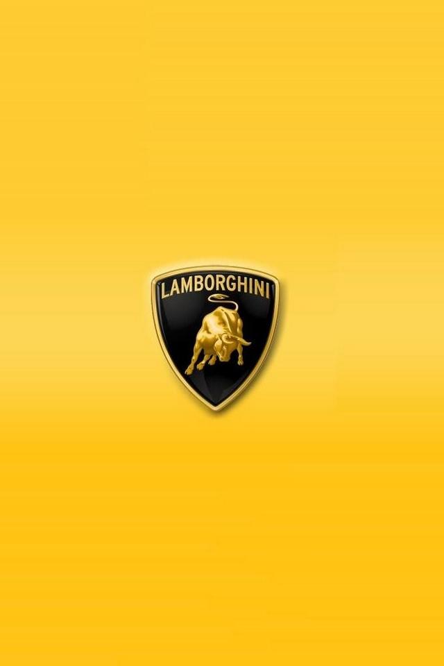 lamborghini logo iphone Android wallpaper 640x960