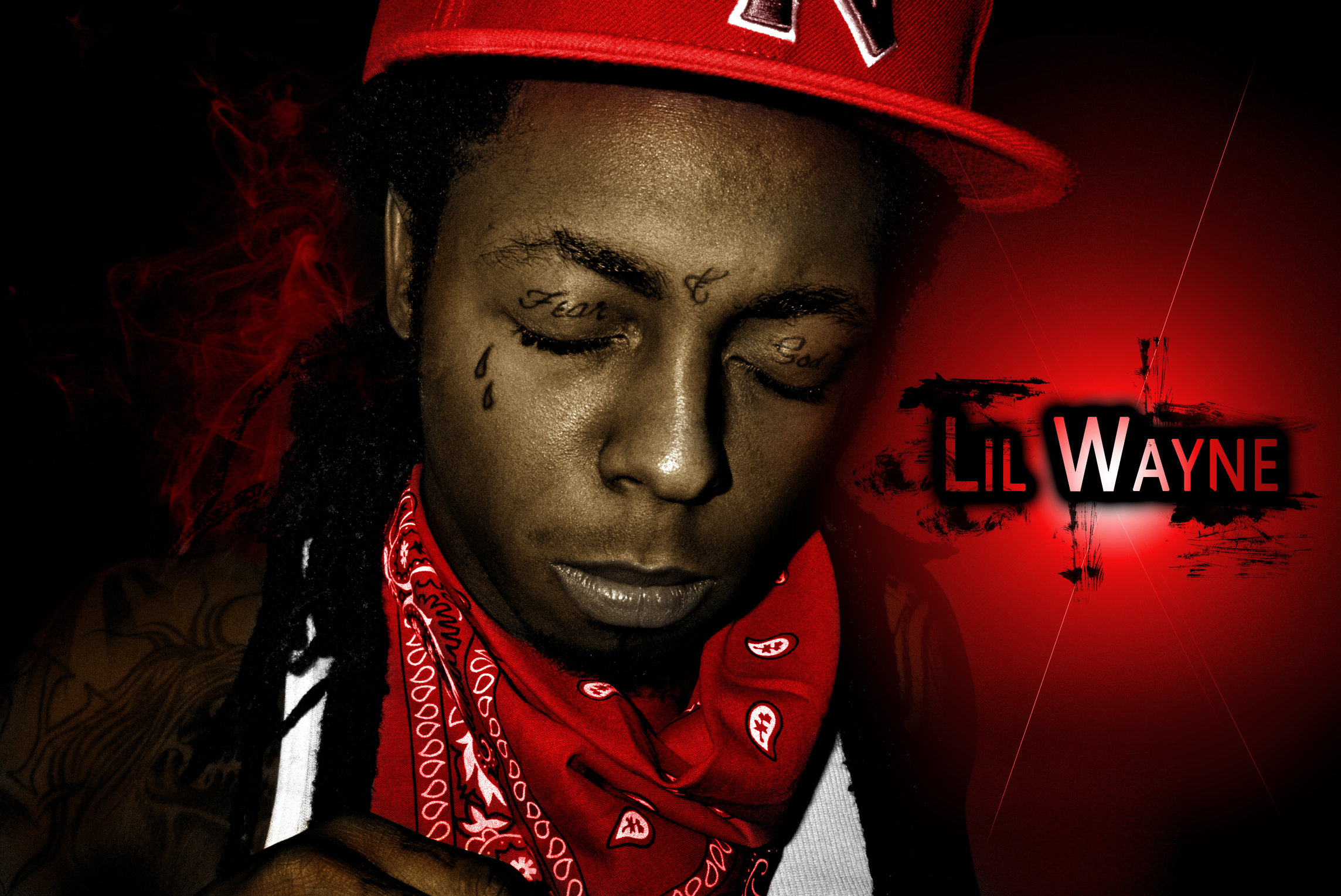 Old Lil Wayne Black and White picture colored   Page 2 2288x1529