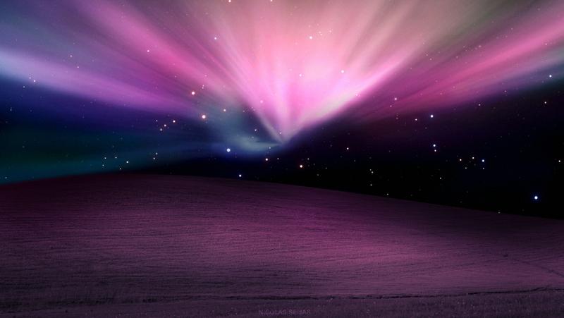 galaxies apple inc mac desktop skyscapes 1360x768 wallpaper Space 800x451