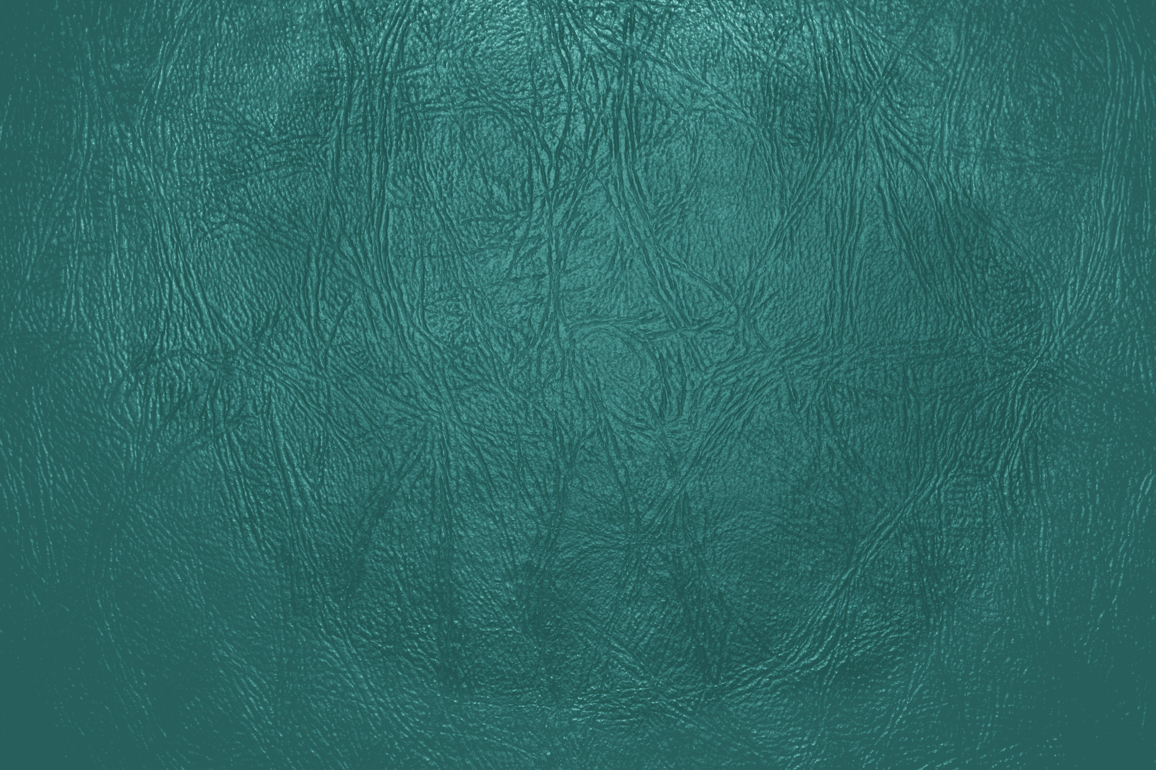Teal Leather Close Up Texture Picture Photograph Photos 3888x2592