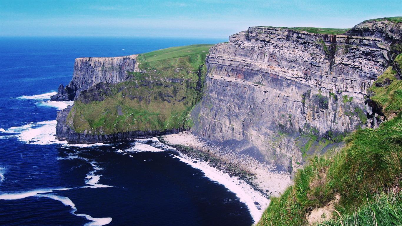 Pics Photos   Of Moher Ireland Desktop Wallpaper Picture 1366x768