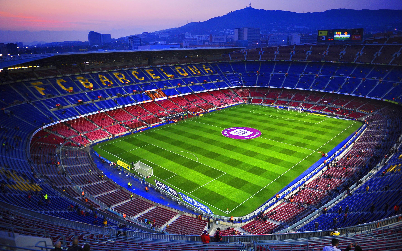 Camp Nou Wallpaper Download 2880x1800