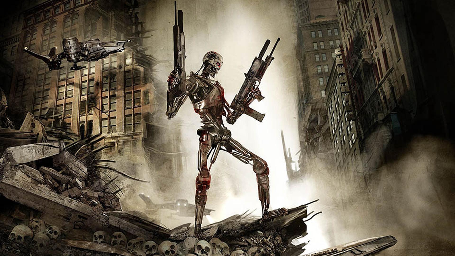 Terminator wallpaper wallpapersafari - Terminator 2 wallpaper hd ...