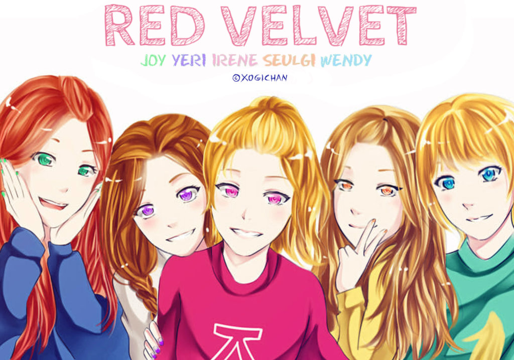 Free Download Red Velvet By Xogichan 1024x717 For Your