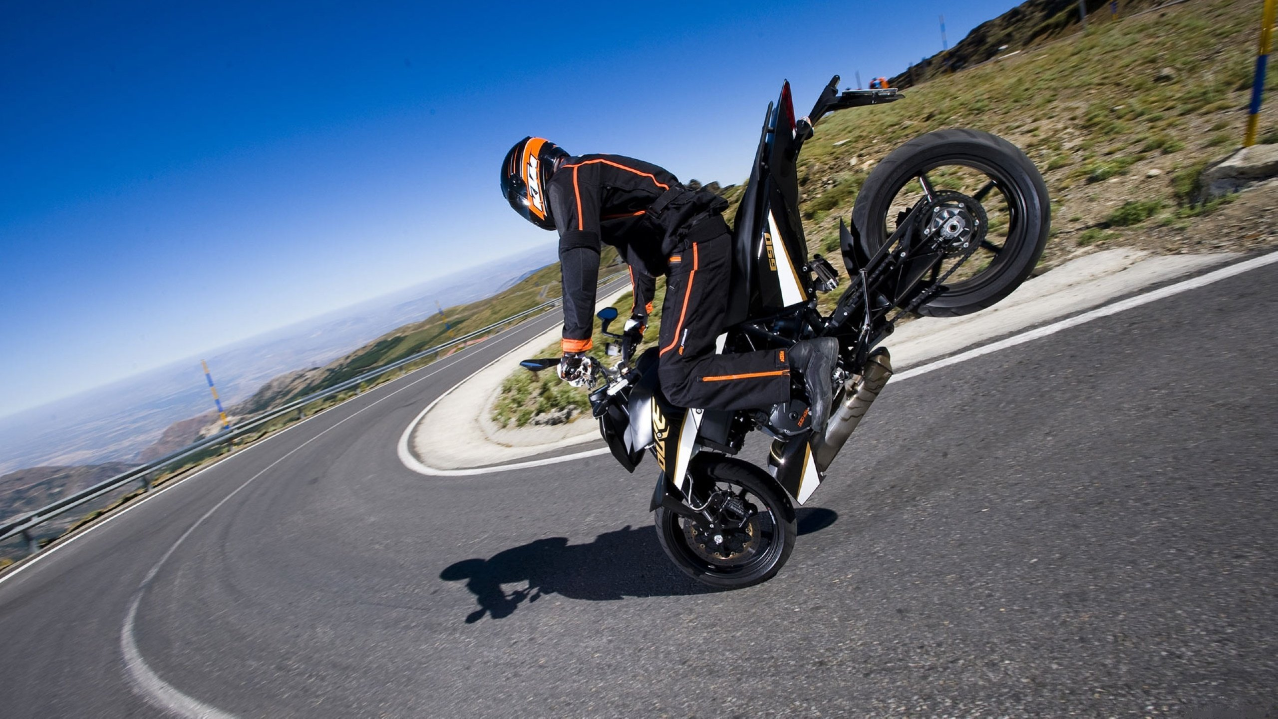 KTM 690 Duke Stoppie Bikes HD Wallpapers Car Wallpapers 2560x1440