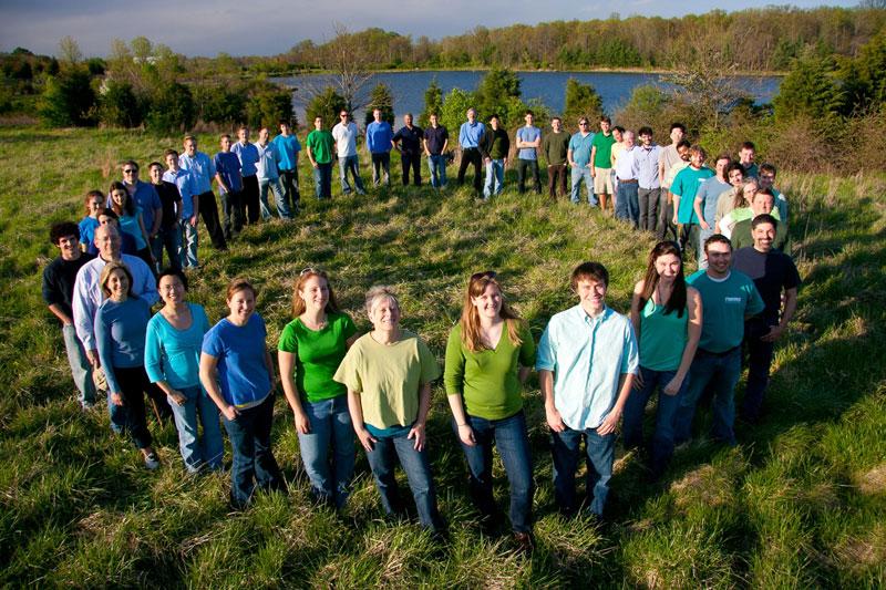 Maryland Solar Decathlon team Courtesy of the University of Maryland 800x533