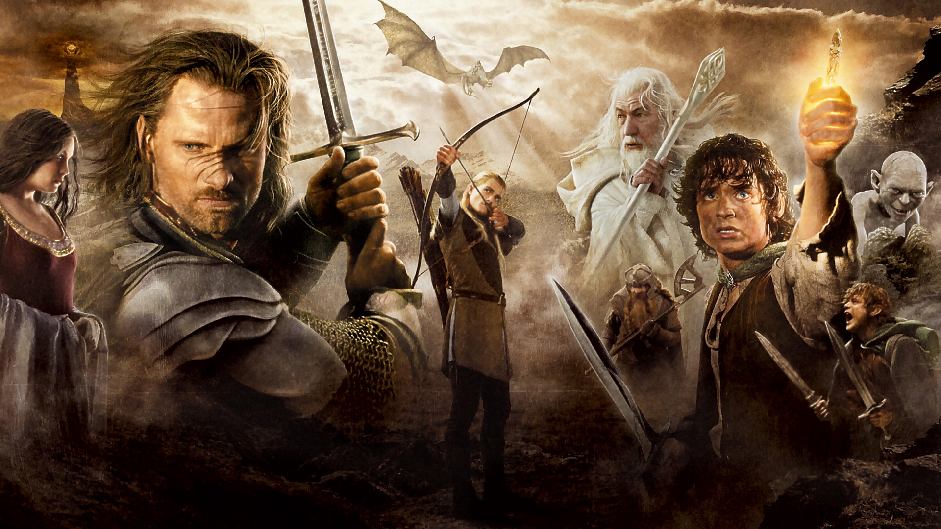 Gallery For gt Lord Of The Rings Wallpapers 1920x1080