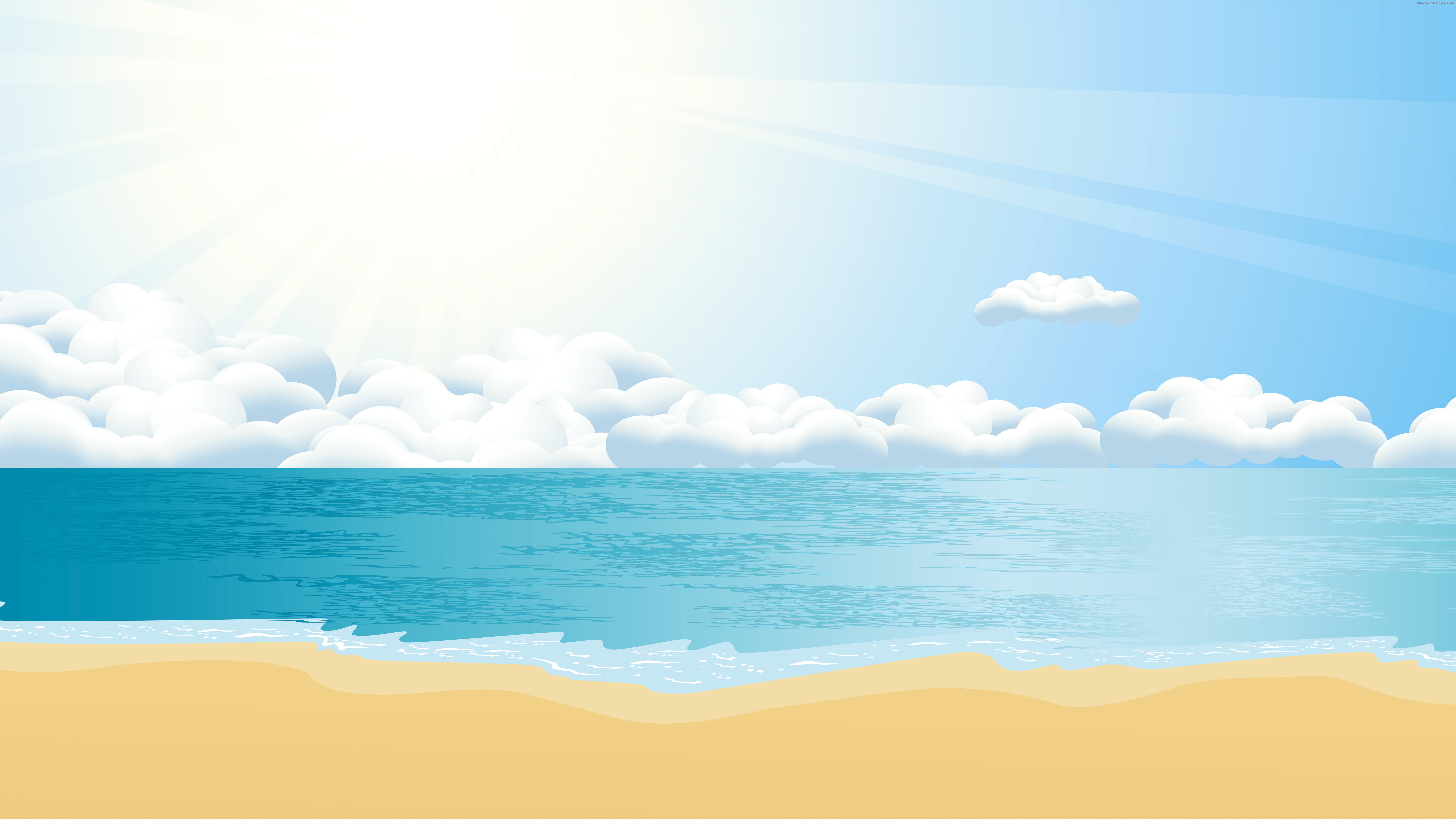 White Sand Beach 4k Hd Desktop Wallpaper For 4k Ultra Hd: 8K UHD Wallpaper