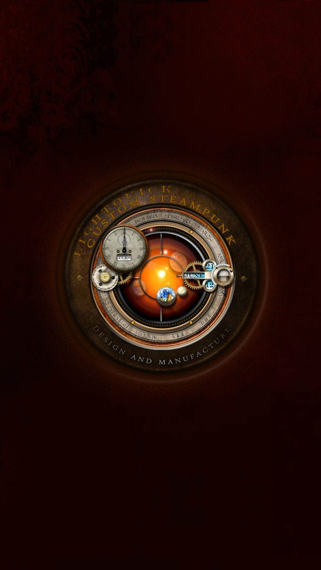 Steampunk Iphone5 Wallpaper Iphone 55s Wallpaper Pinterest 640x1136