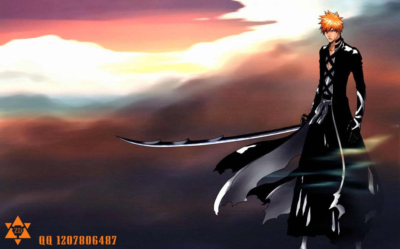 Ichigo Kurosaki Bankai Bleach Anime Hd Wallpaper 1440x900 4b