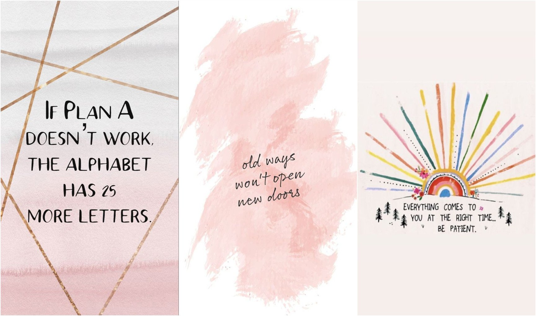 22 Inspirational iPhone Wallpaper Quotes to Embrace   Fancy Ideas 1729x1021