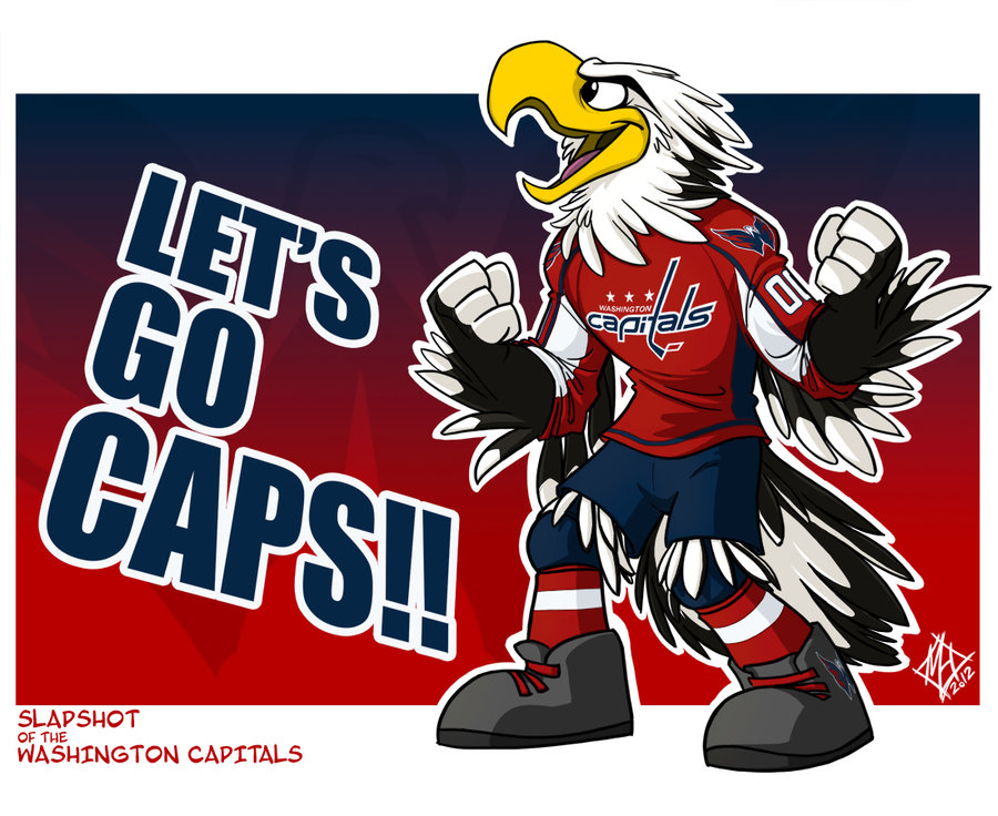 Washington Capitals Slapshot By Jmh3k On Deviantart 900x736