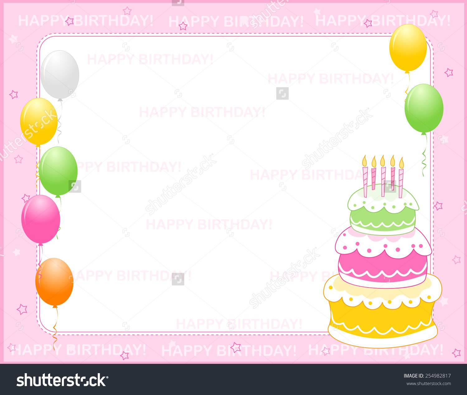 Birthday Invitation Backgrounds Cloudinvitationcom 1500x1267