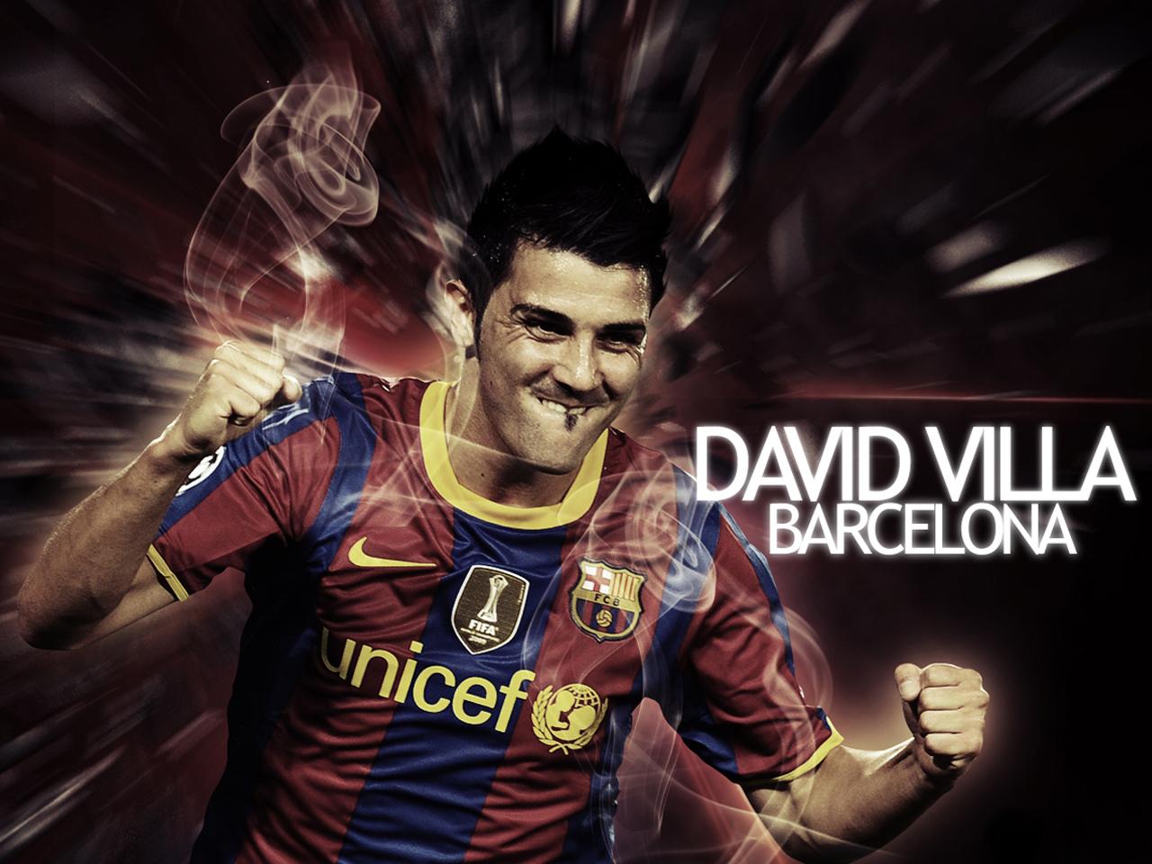 David Villa Soccer Wallpaper 1280x960