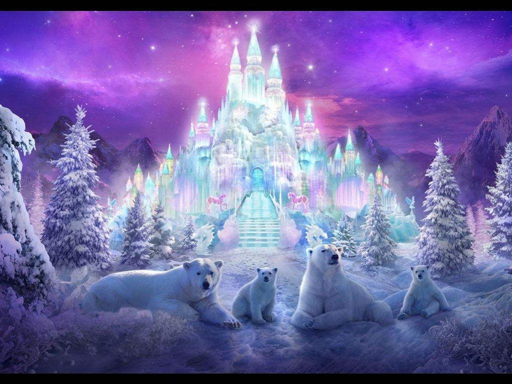 Magical Winter wallpaper   cynthia selahblue cynti19 Wallpaper 1024x768