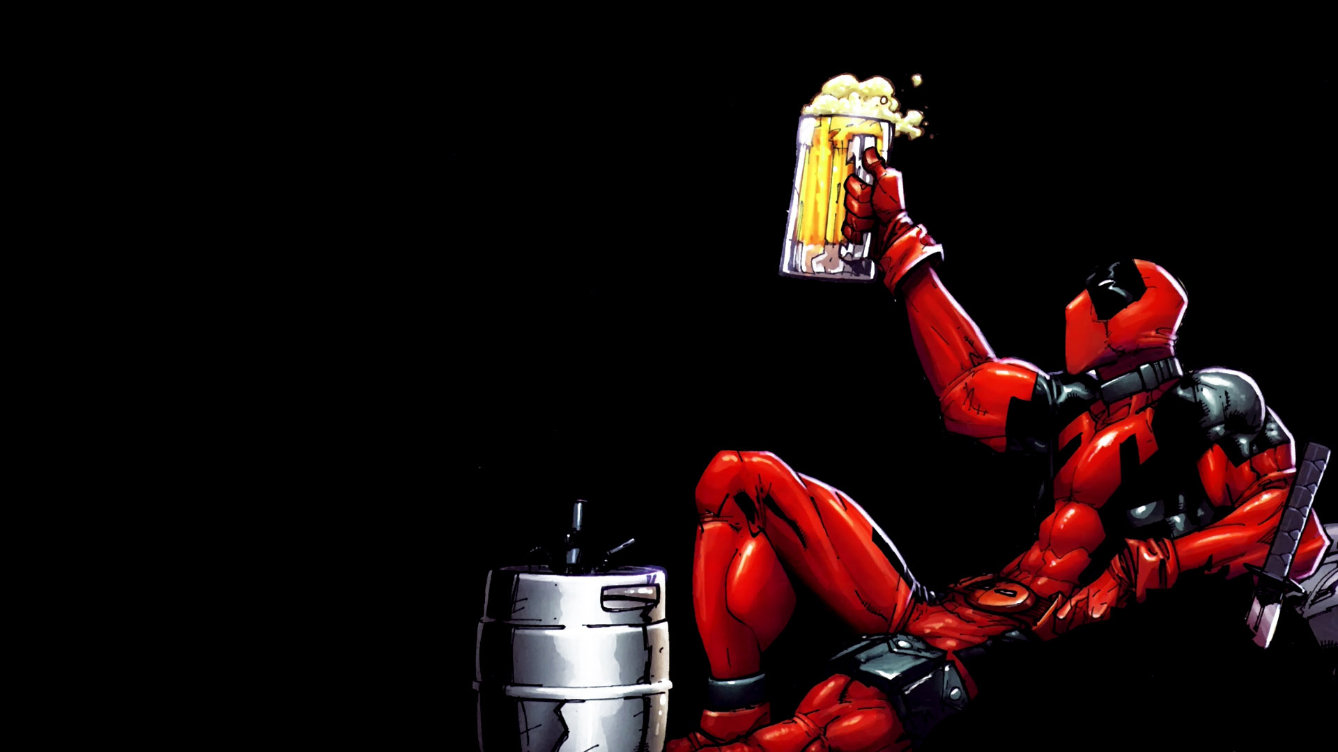 Download Funny Deadpool Wallpaper High Definition HD Games Wallpaper 1920x1080