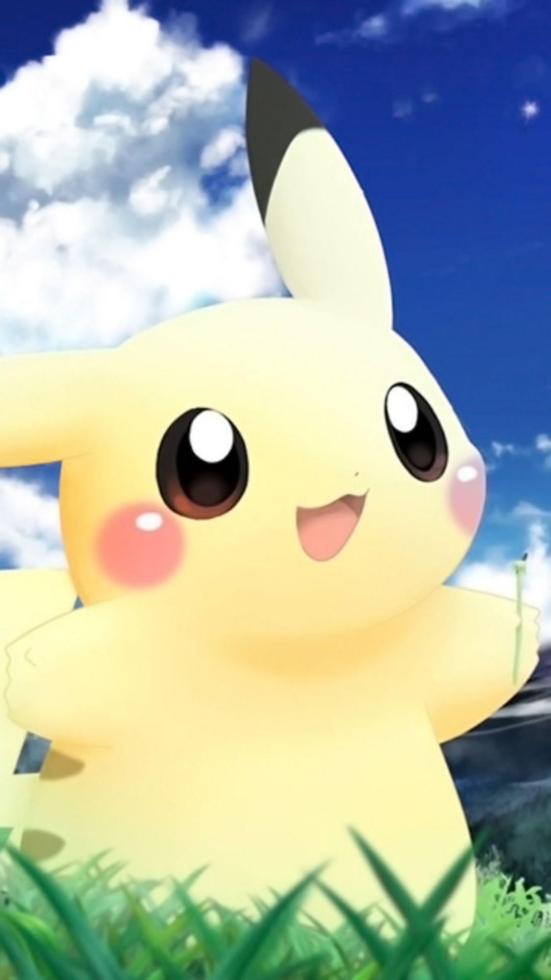 Pikachu HD Wallpaper - WallpaperSafari