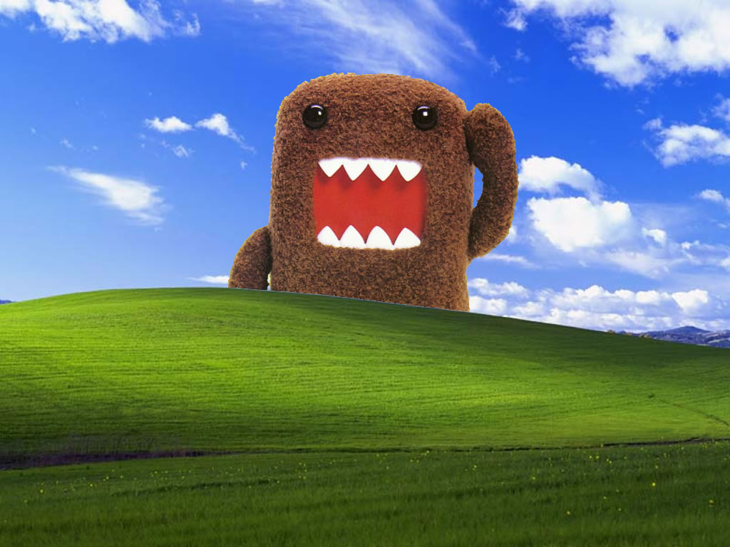 guy gowans Domo Kun Wallpaper 1024x768