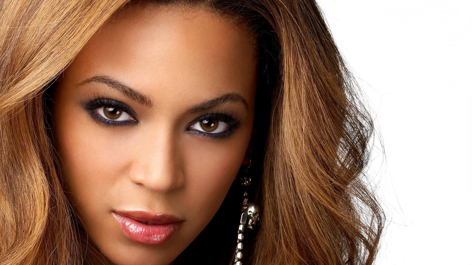 Beyonce knowles brunettes women celebrity brown eyes white 1920x1080