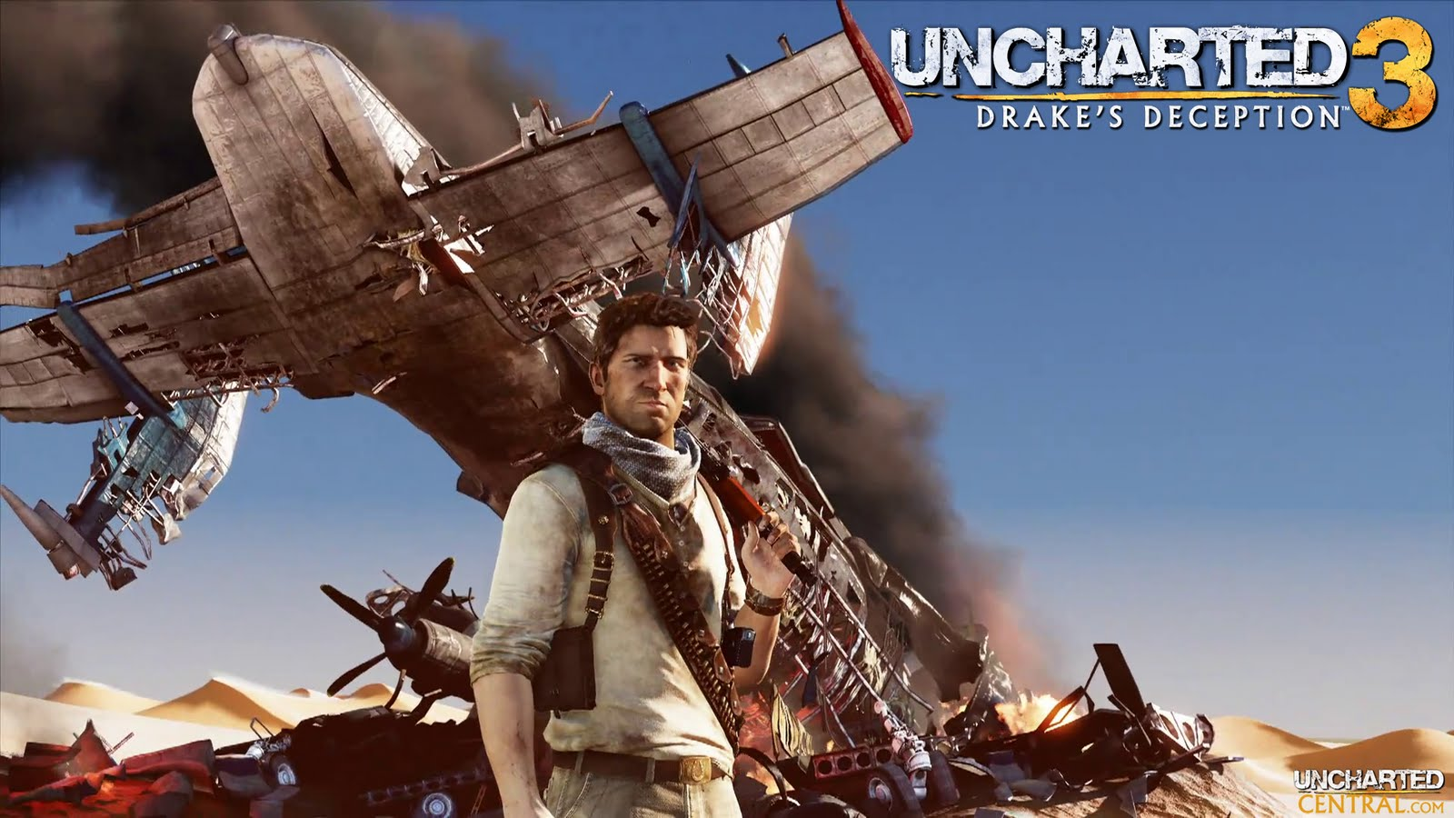 Videogames Universe Uncharted 3 Wallpaper in HD 1600x900