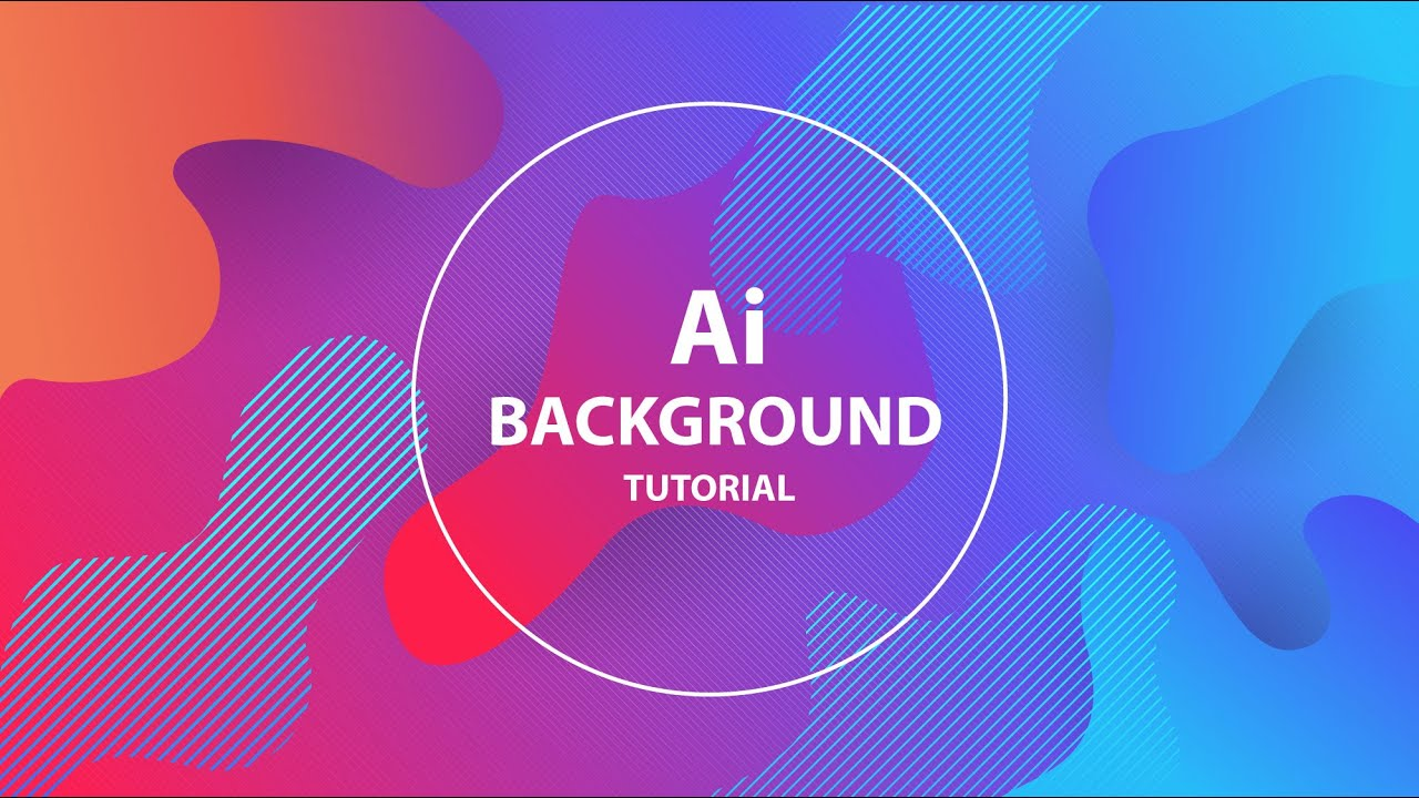 How to Make Colorful Liquid Backgrounds In Adobe Illustrator 1280x720
