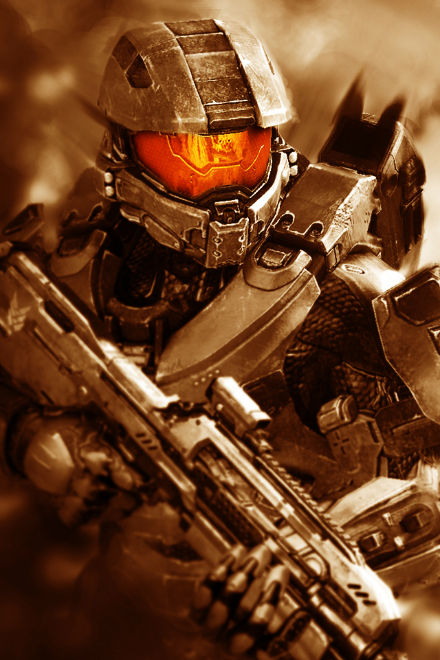 Halo 4 Master Chief iPhone Wallpaper 2 by Smyf 640x960