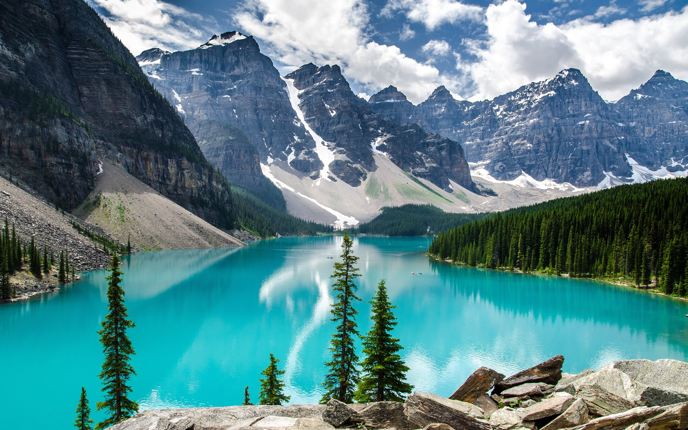 Moraine Lake Banff National Park Wallpapers HD Wallpapers 2880x1800