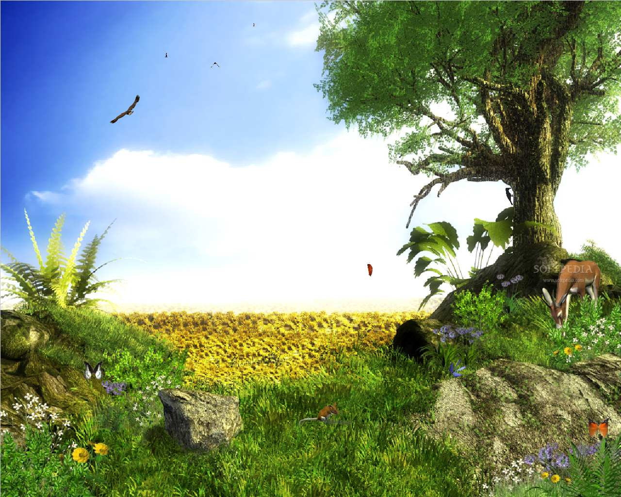 3D Animation Wallpapers 1280x1024