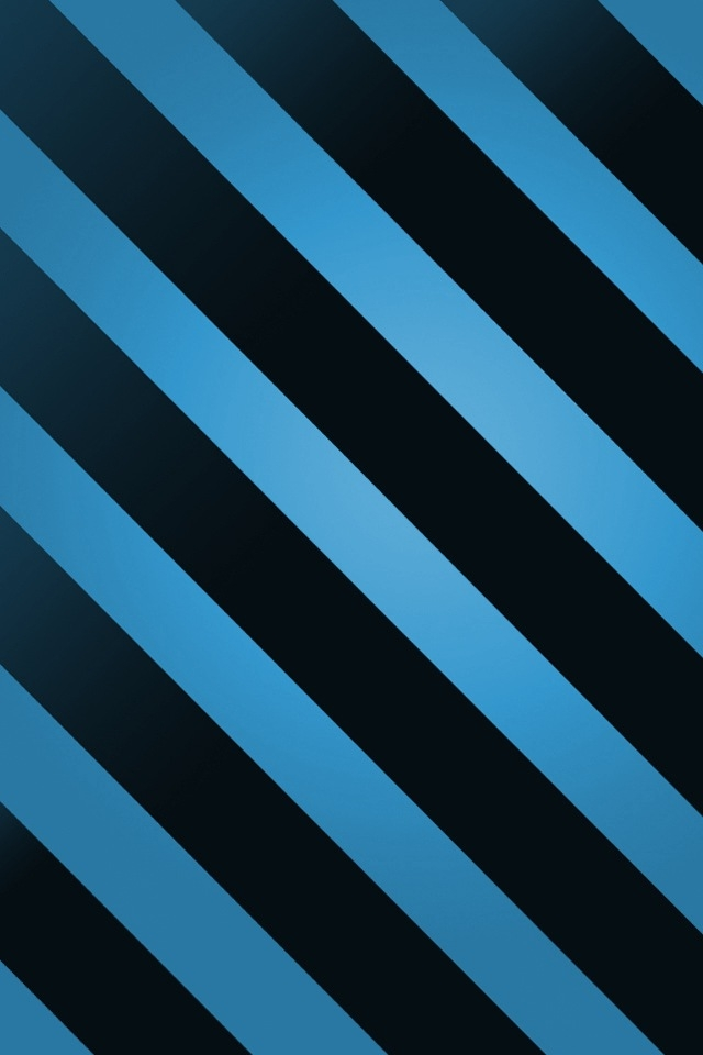 Blue Black Striped iPhone HD Wallpaper iPhone HD Wallpaper download 640x960