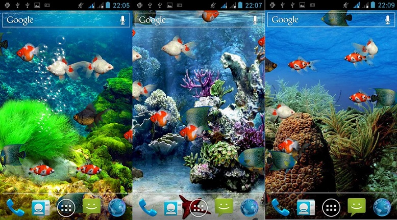 Aquarium Live Wallpaper   Download for for Samsung Galaxy Note 3 778x432