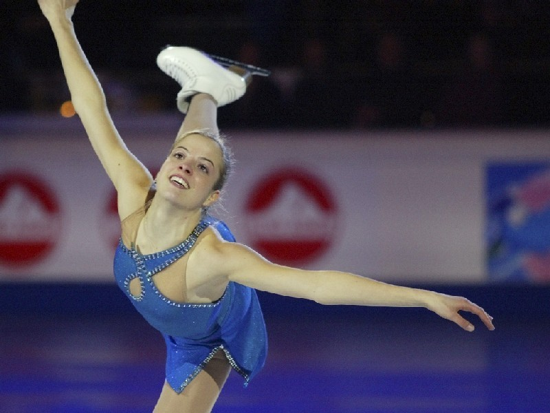 Wallpaper Carolina Kostner   Ice Skating Wallpaper 10280873 800x600