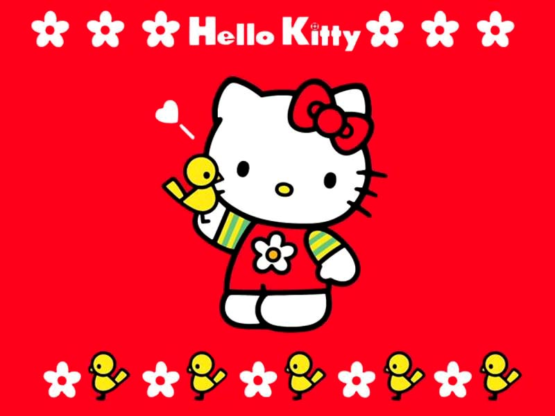 Free download This red hello kitty wallpaper [800x600] for your