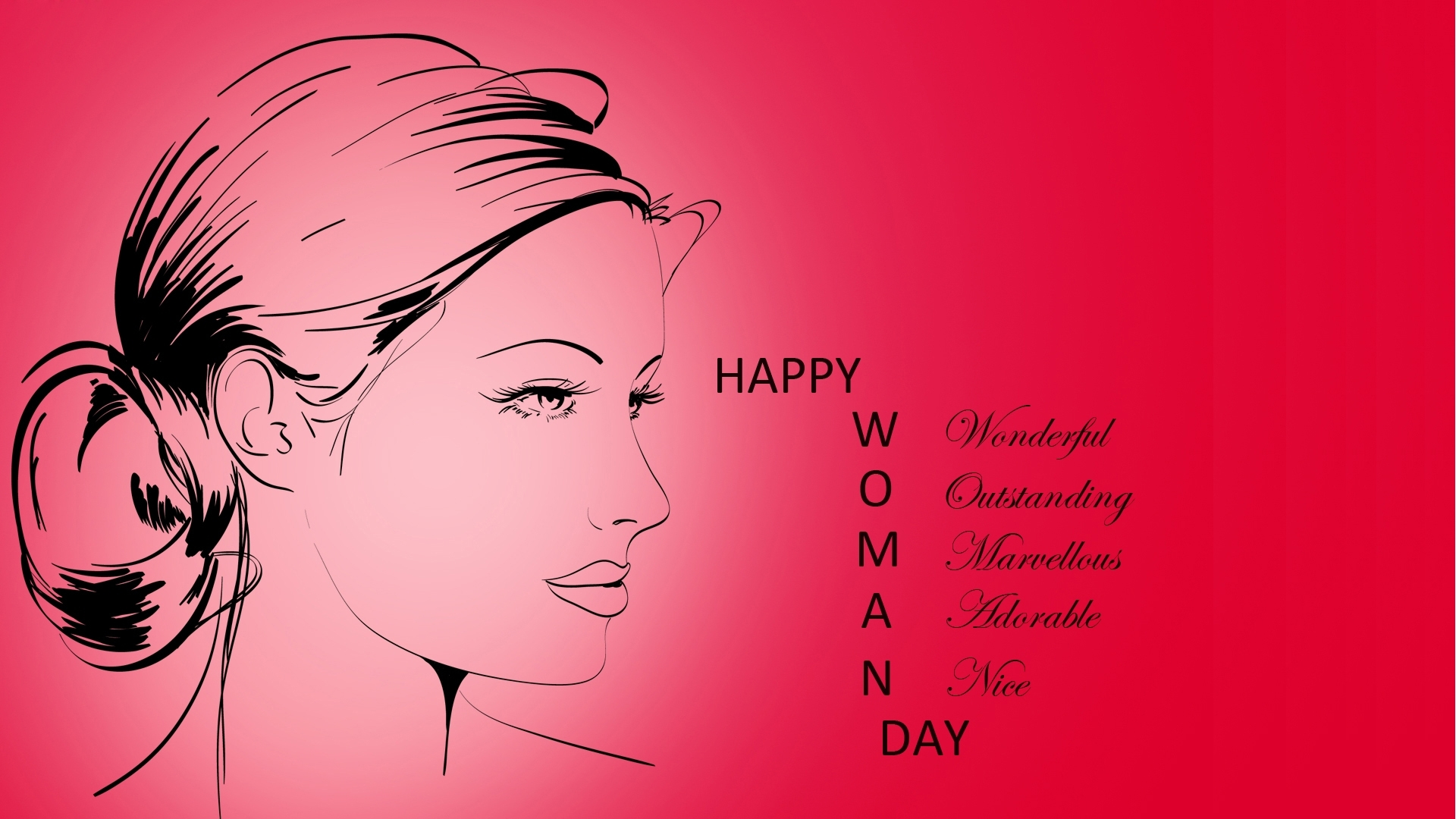 Happy Womans Day to All The lovely Ladies International Women 1920x1080