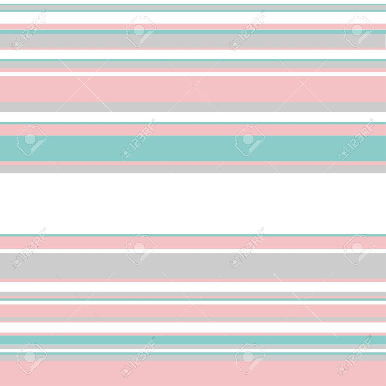 Seamless Horizontal Stripes Pattern Basic Shapes Backgrounds 1300x1300