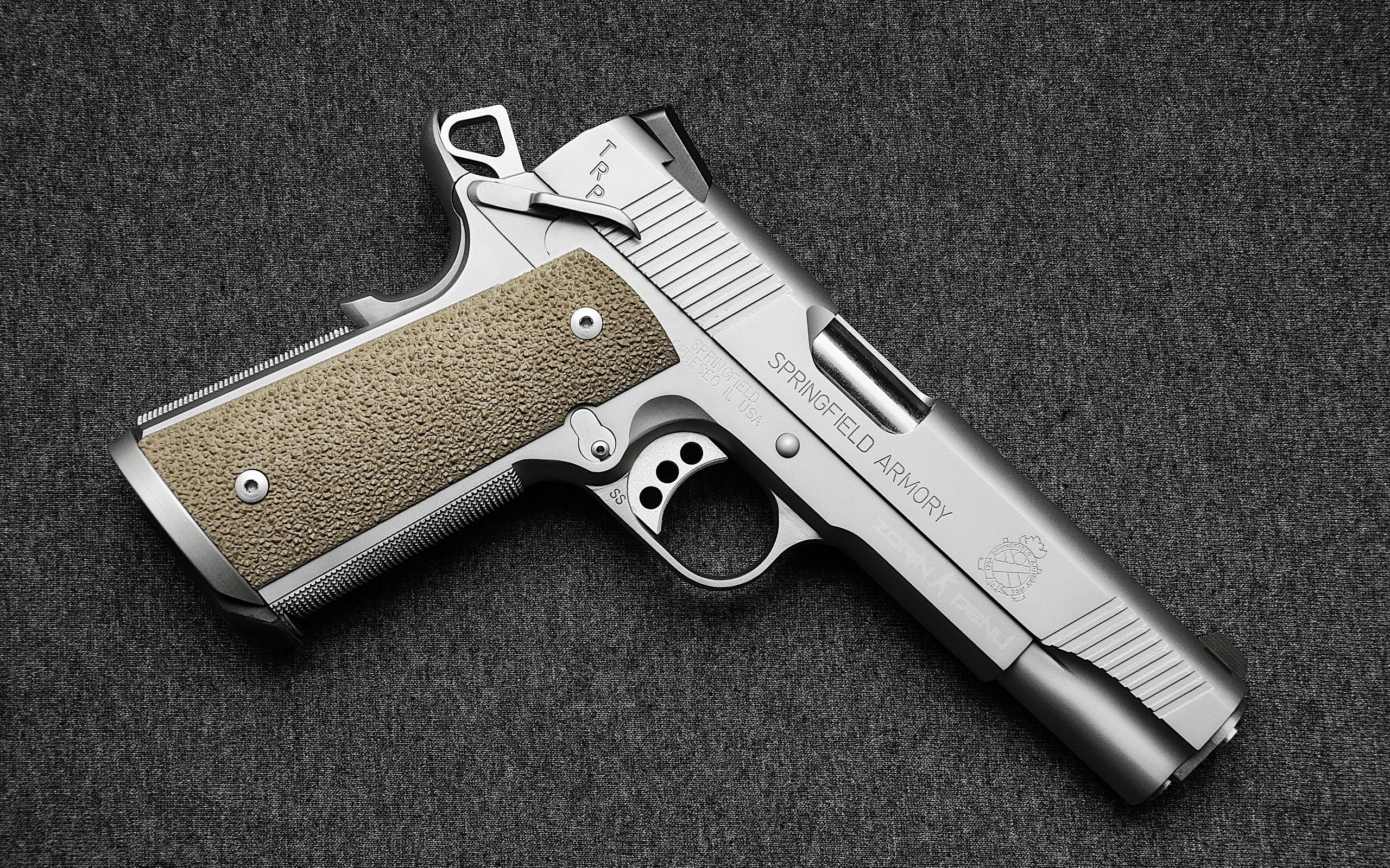 Weapons   Springfield Armory 1911 Pistol Wallpaper 2560x1600
