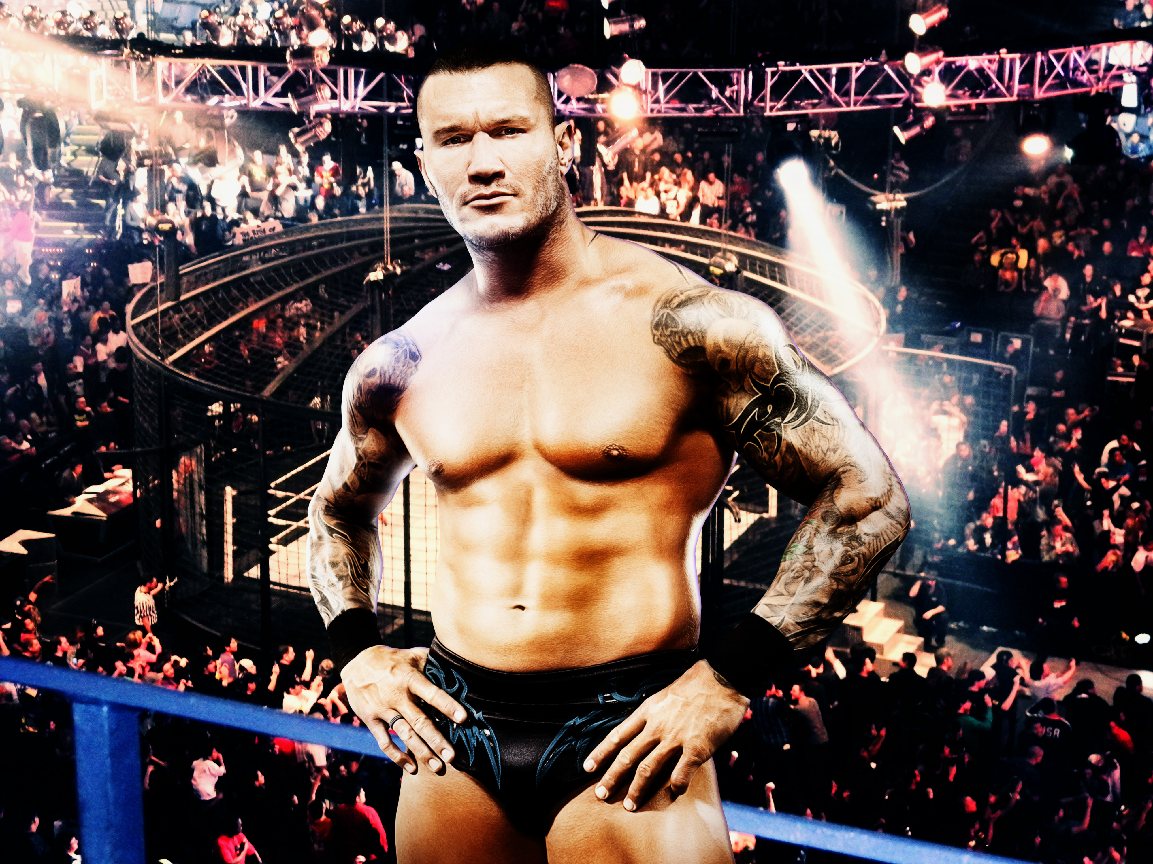 Randy Orton Elimination Chamber wallpaper by menasamih on 4000x3000