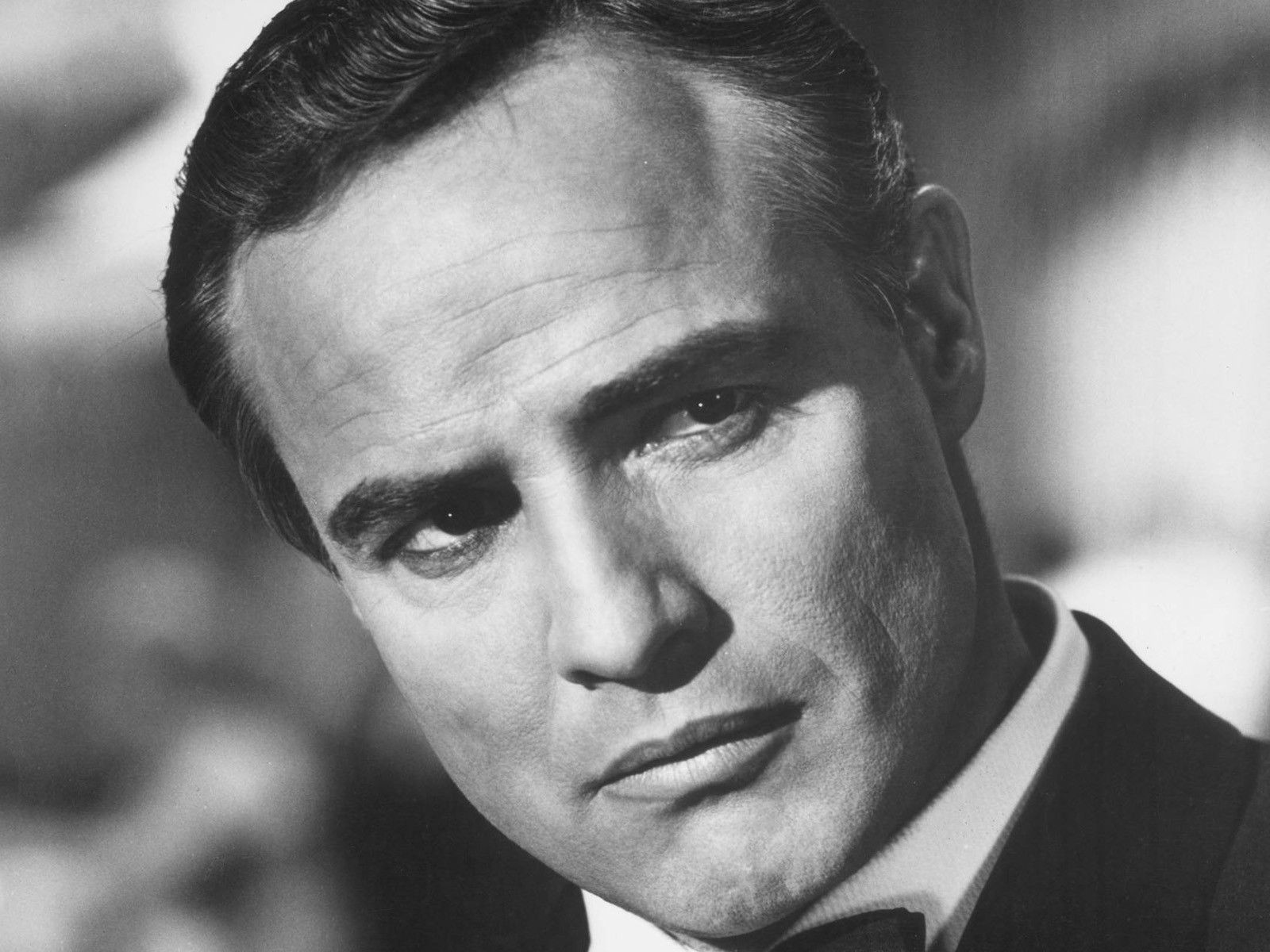 Marlon Brando is widely considered the greatest movie actor of all time rivaled only by the more theatrically oriented Laurence Olivier in terms of