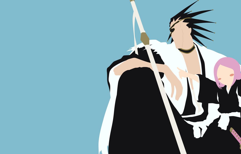 Wallpaper demon sword white game Bleach devil grey anime 1332x850