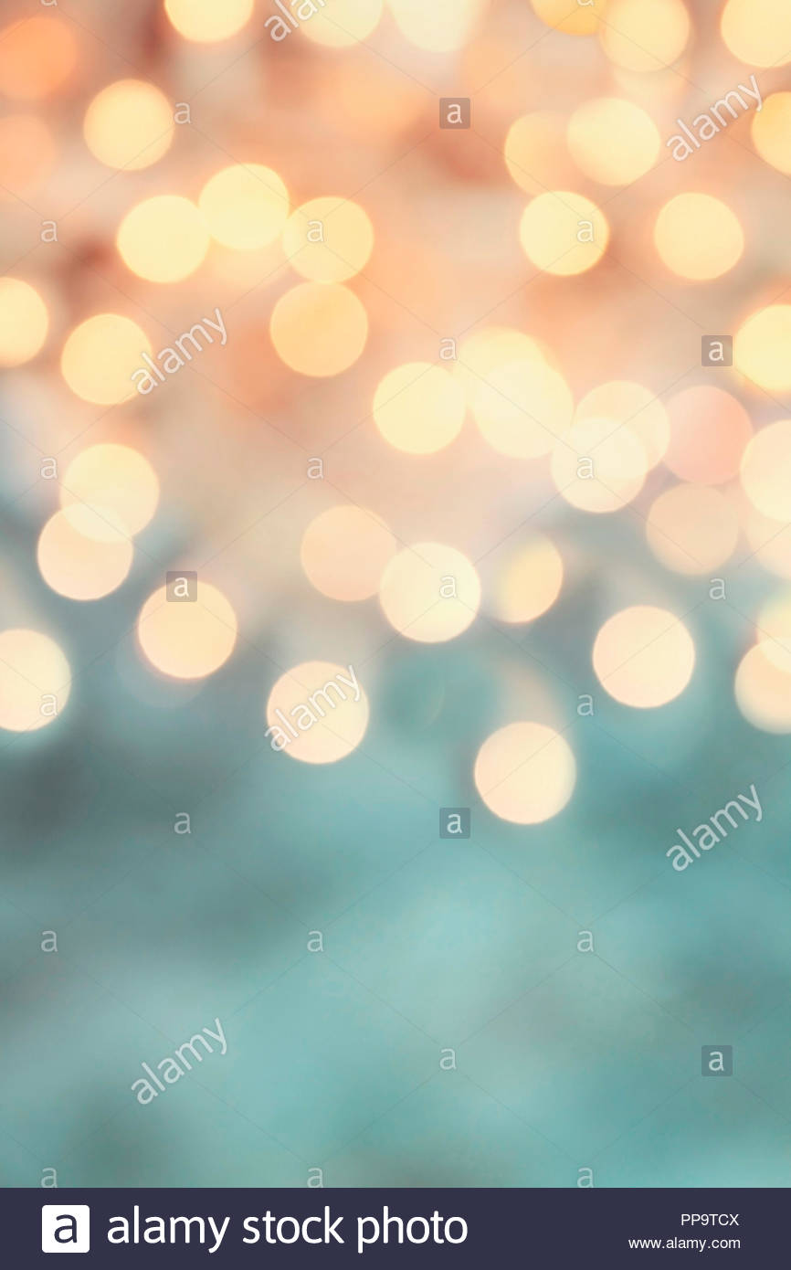 Abstract background of retro tinted holiday bokeh lights with 866x1390