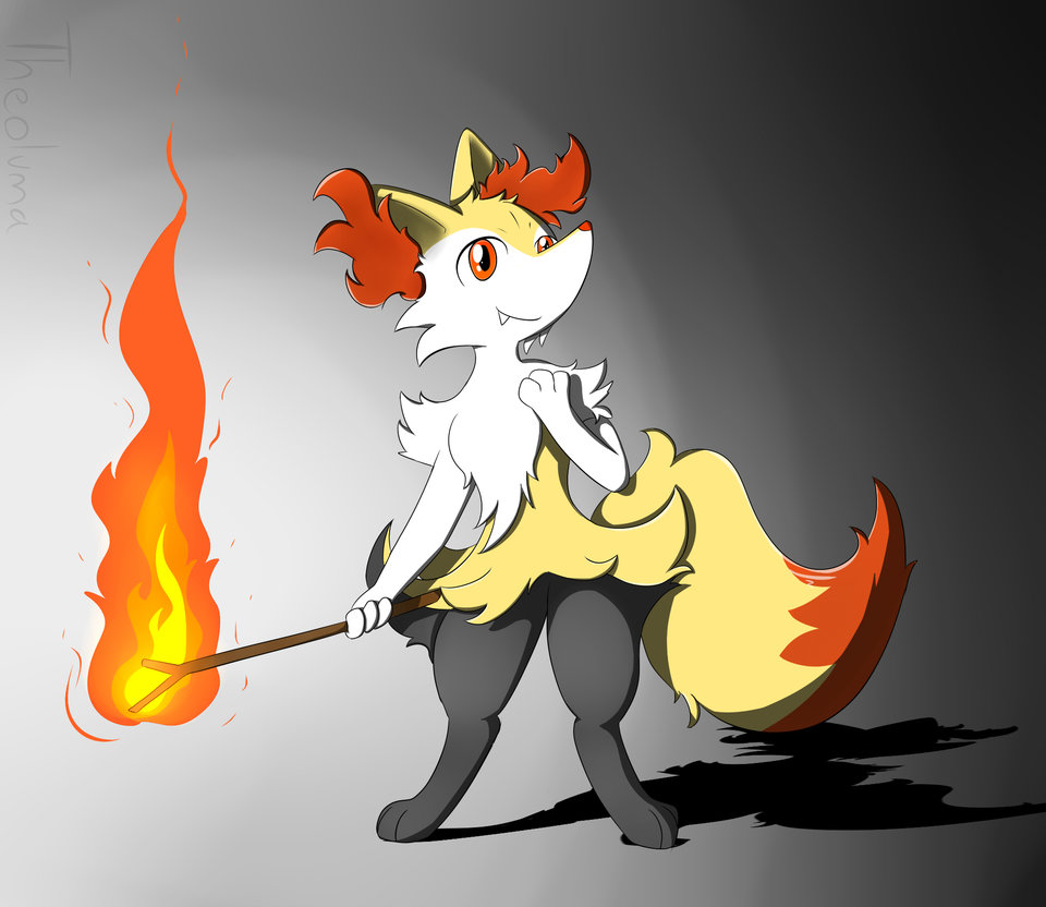 Braixen Request by Theoluma 960x832