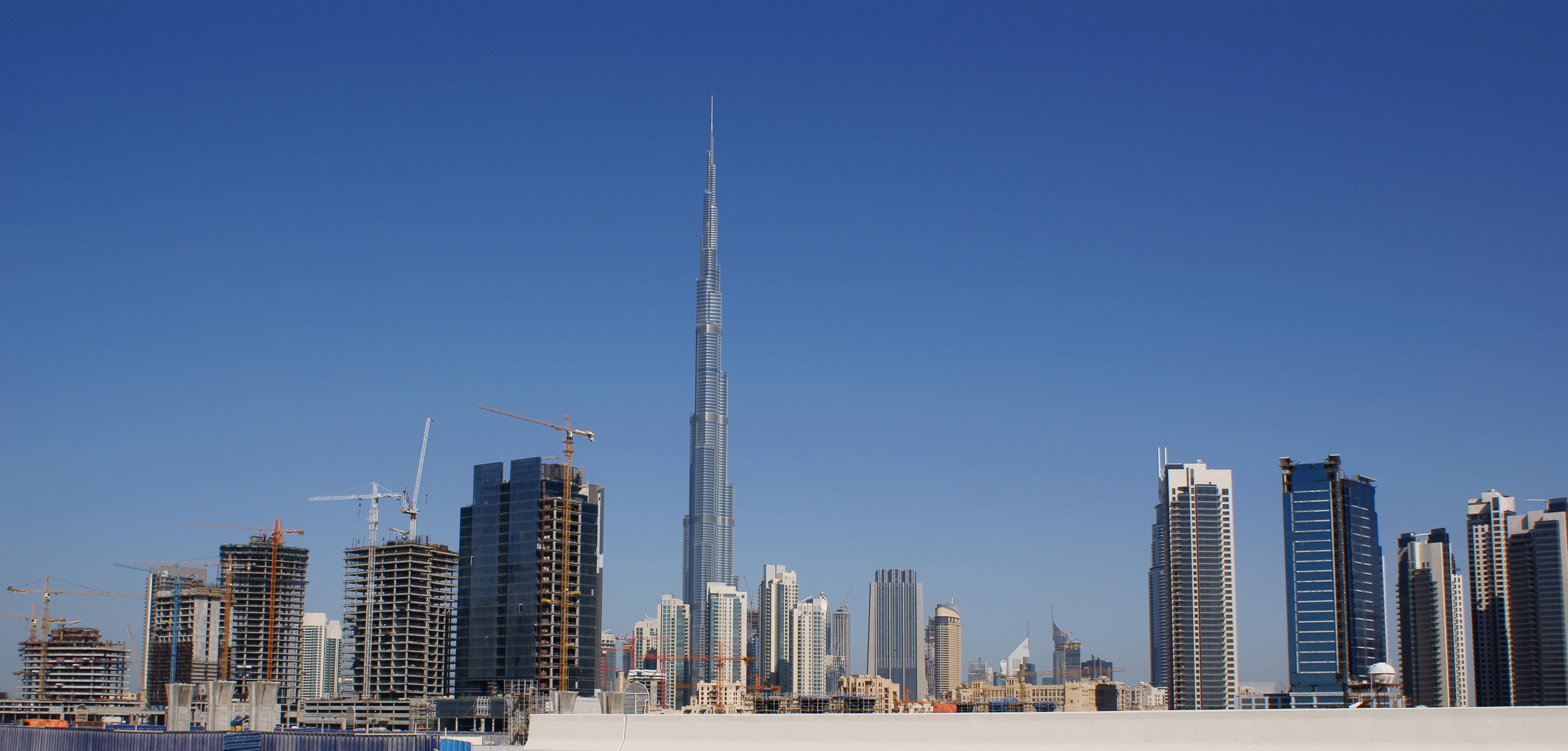Burj Khalifa HD Wallpapers Download 3678x1761