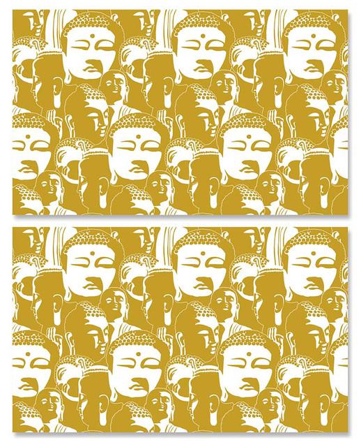Gold Buddha   Wallpaper Tiles   Asian   Wallpaper   by Design Your 518x640