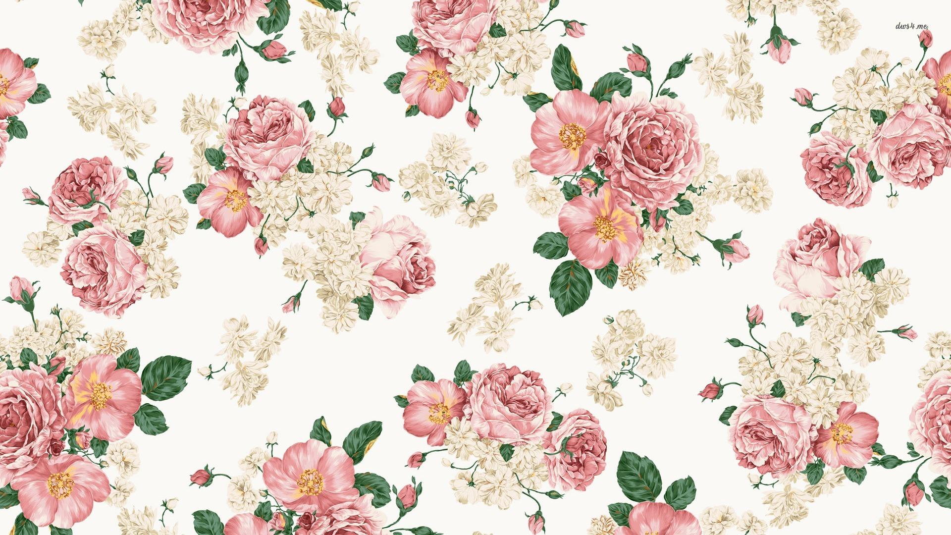 Vintage Roses Wallpaper Wallpapersafari