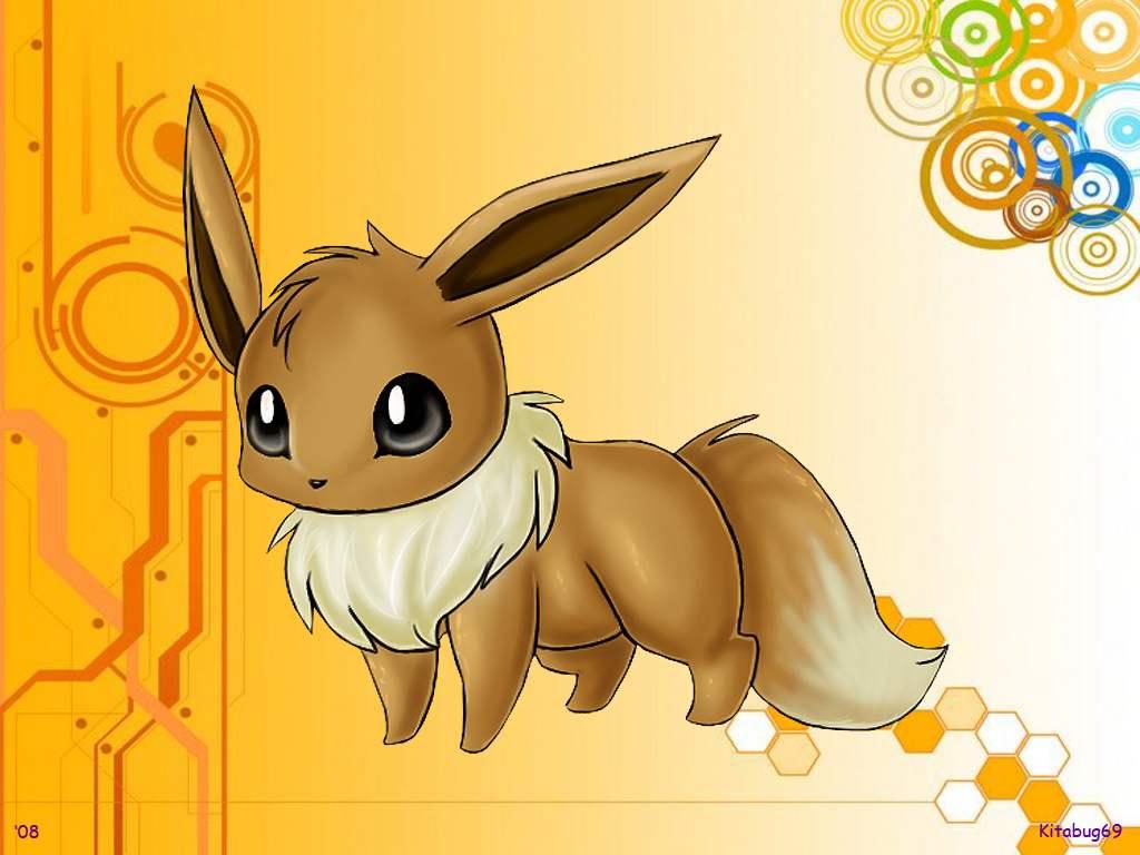 Pokemon Wallpaper Eevee Eevee wallpaper 1024x768